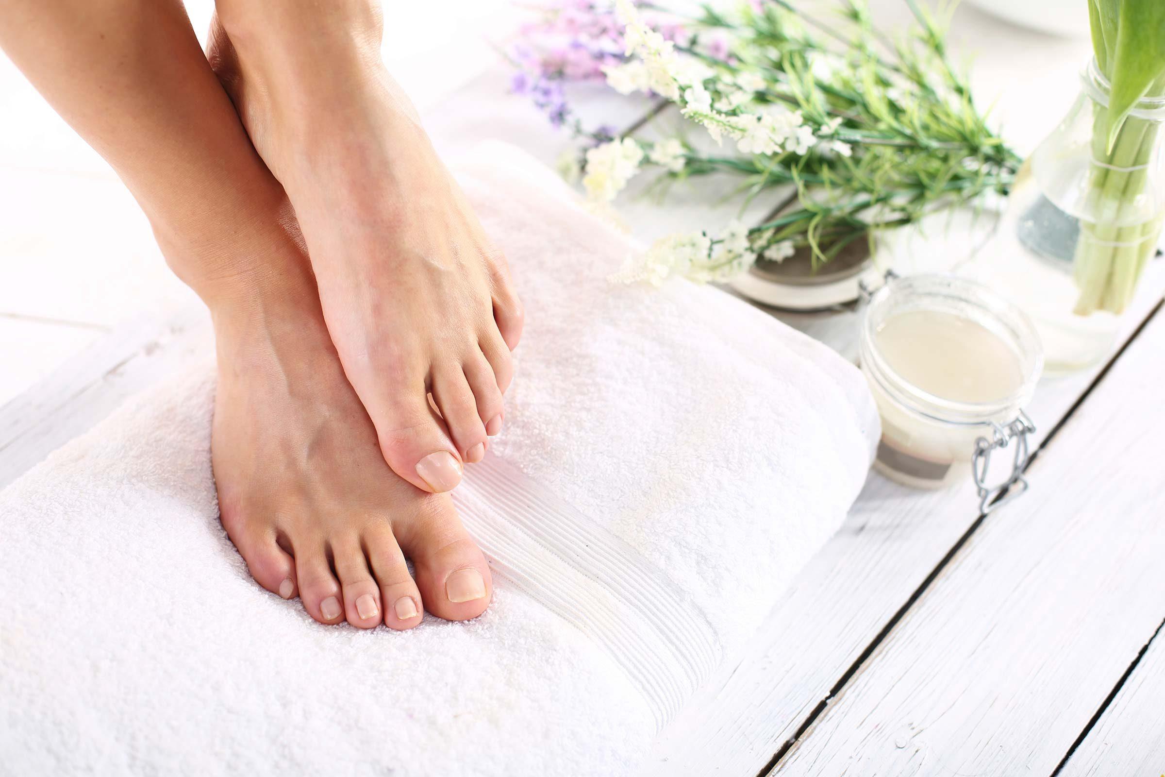 Trattamento di un fungo di pelle di gambe