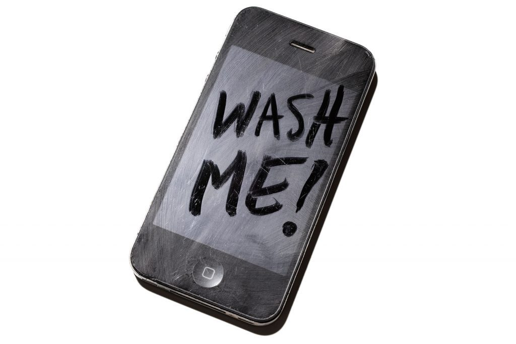 Clean Your Touch Screen: Here's How