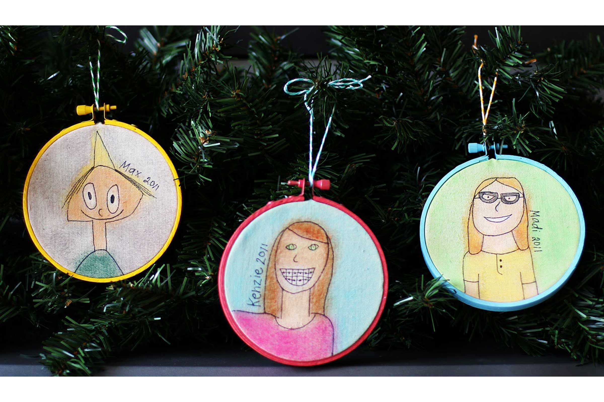 Yearly christmas ornaments - Self Portrait