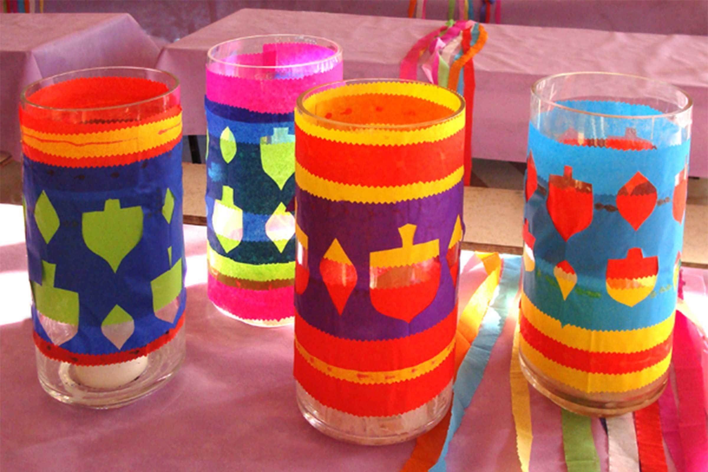 Easy hanukkah crafts for kids reader 39 s digest for Hanukkah crafts for adults
