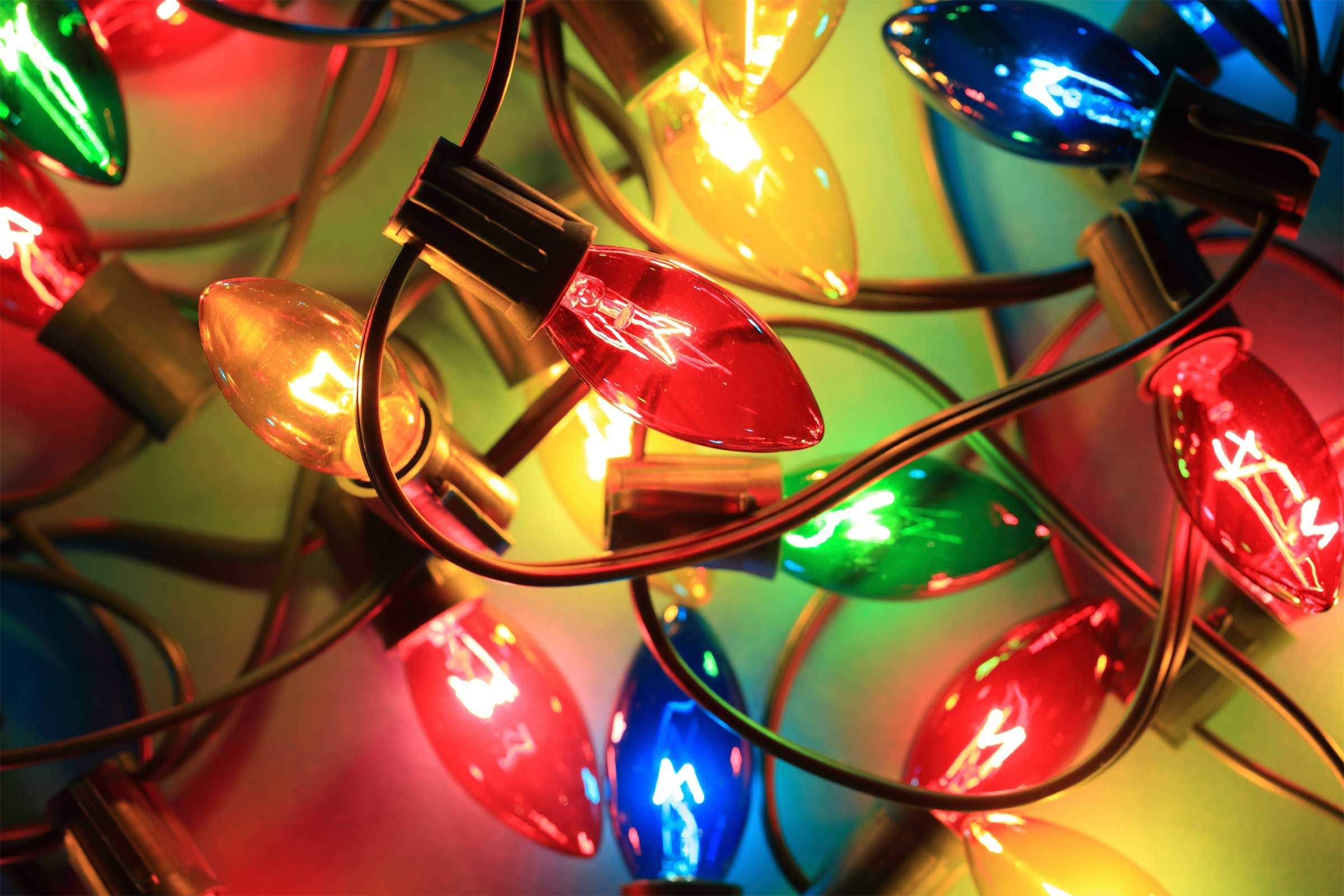 Why do we decorate with christmas lights - And Why We Put Lights On It