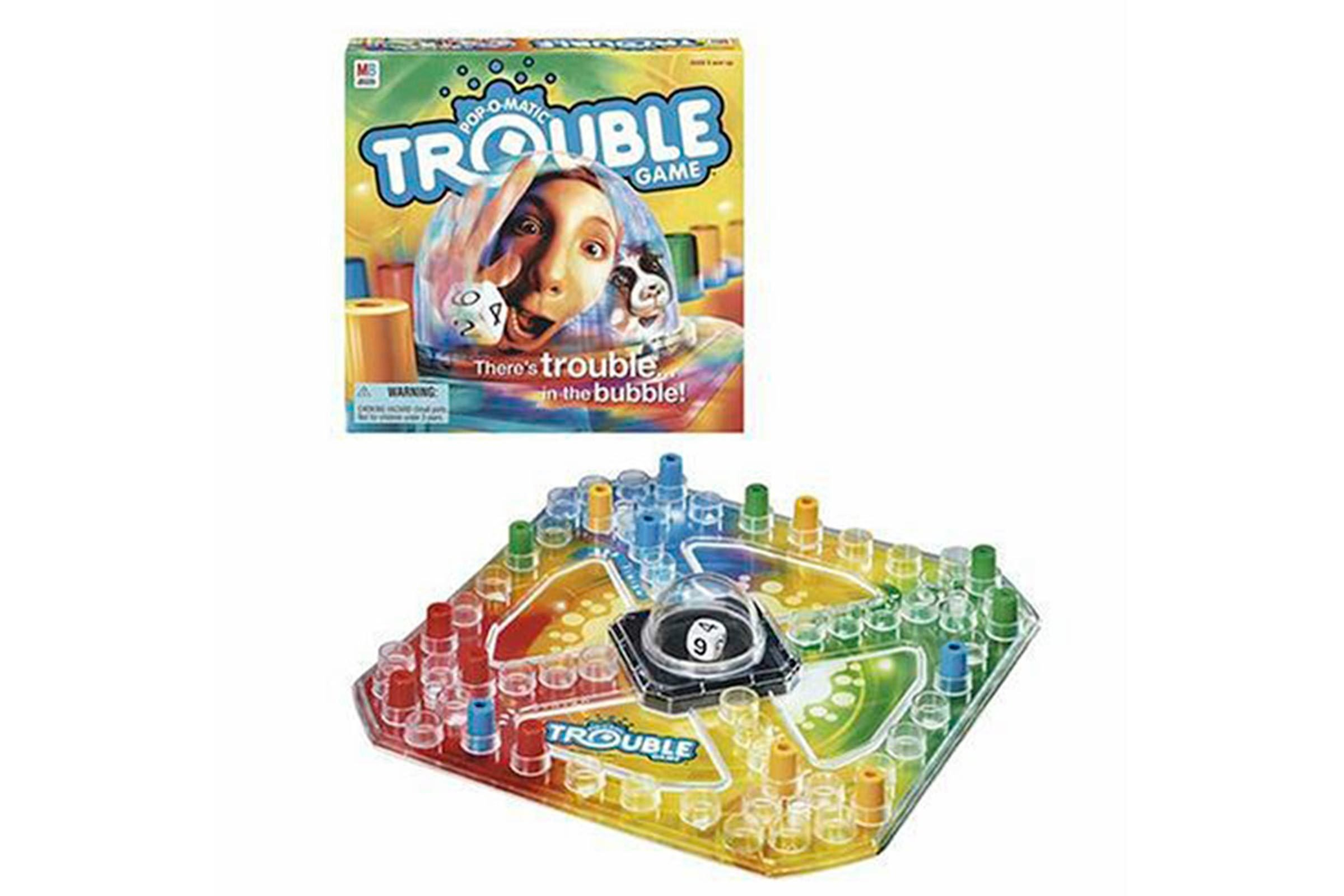 trouble game warp instructions game rules children s game