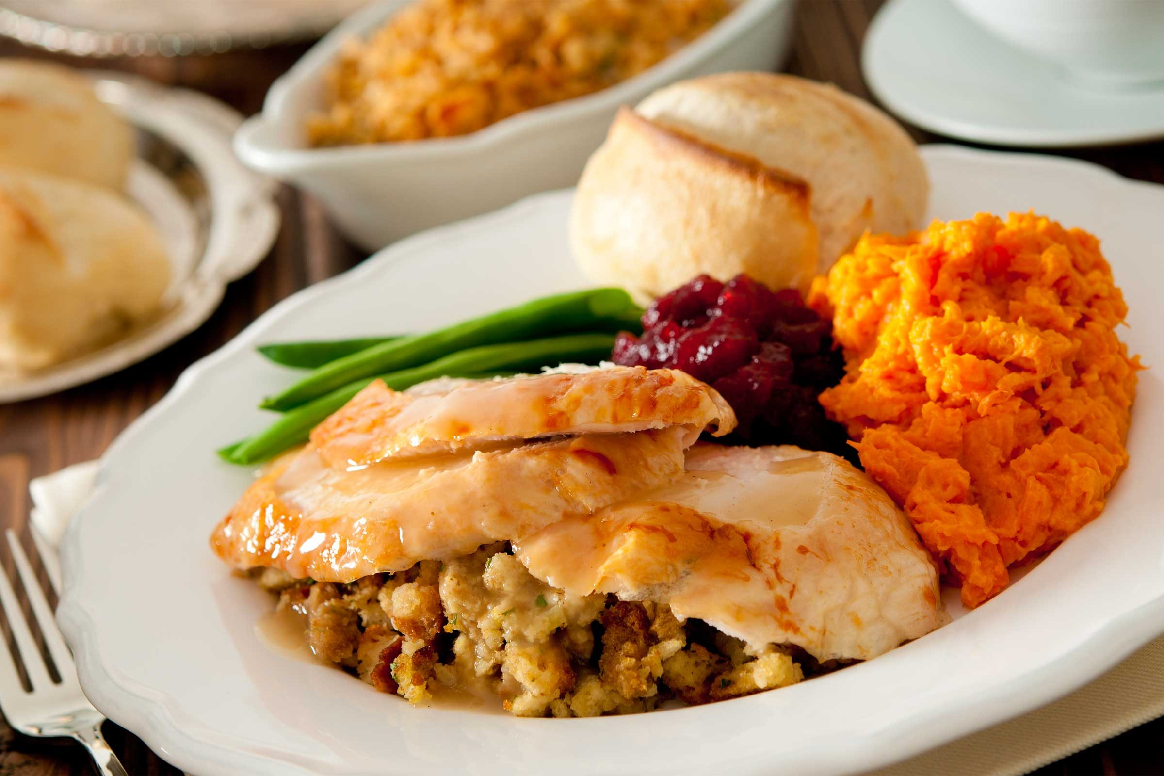 Healthy thanksgiving foods reader 39 s digest for Cuisine 2 go