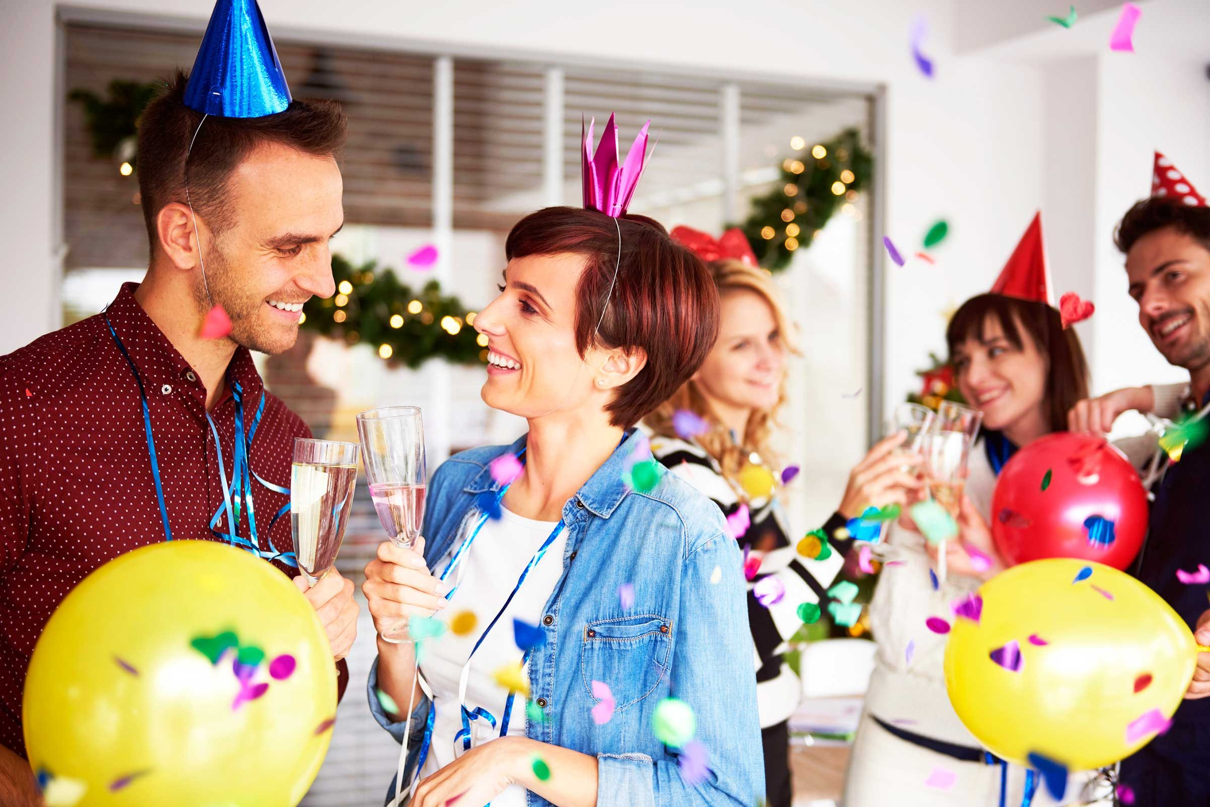 holiday office party etiquette tips reader s digest know the right thing to say