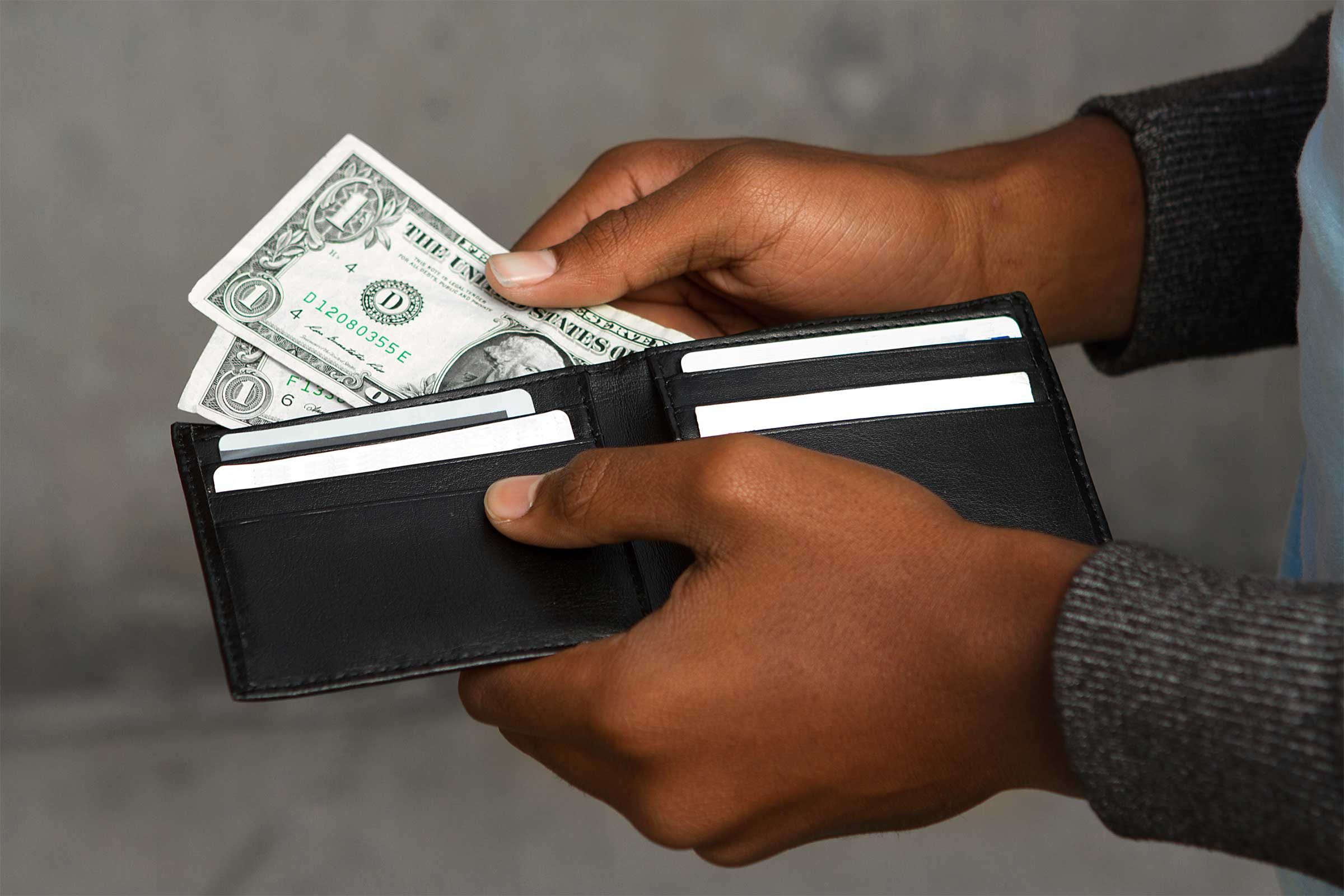 Toss out money woes
