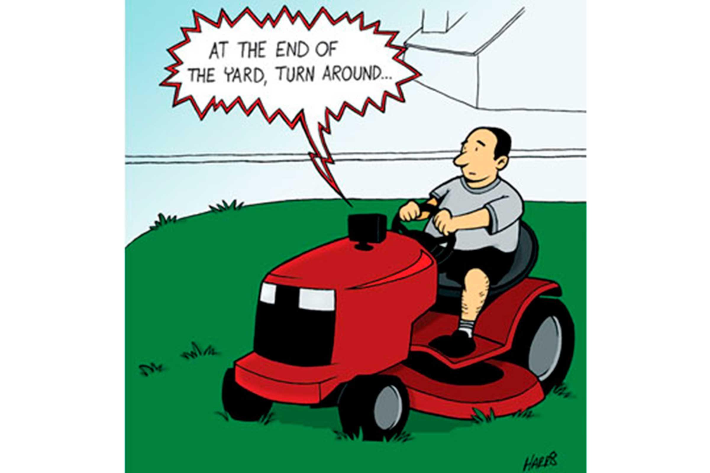 technology funny cartoons reader digest too russell harris jokes appreciate far goes technophobes summer