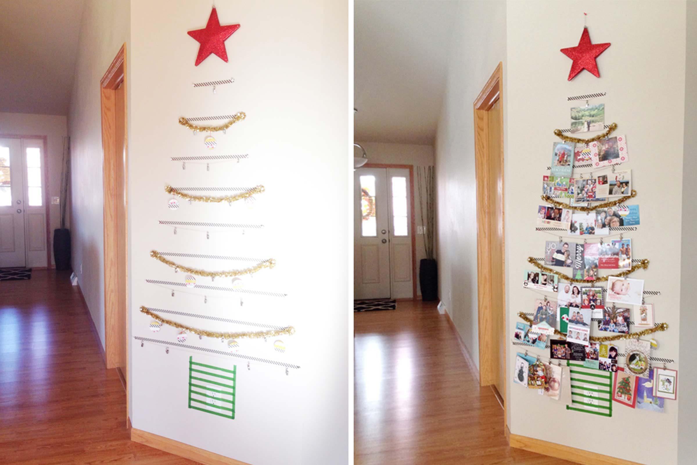 Washi Tape Card Tree Thyme