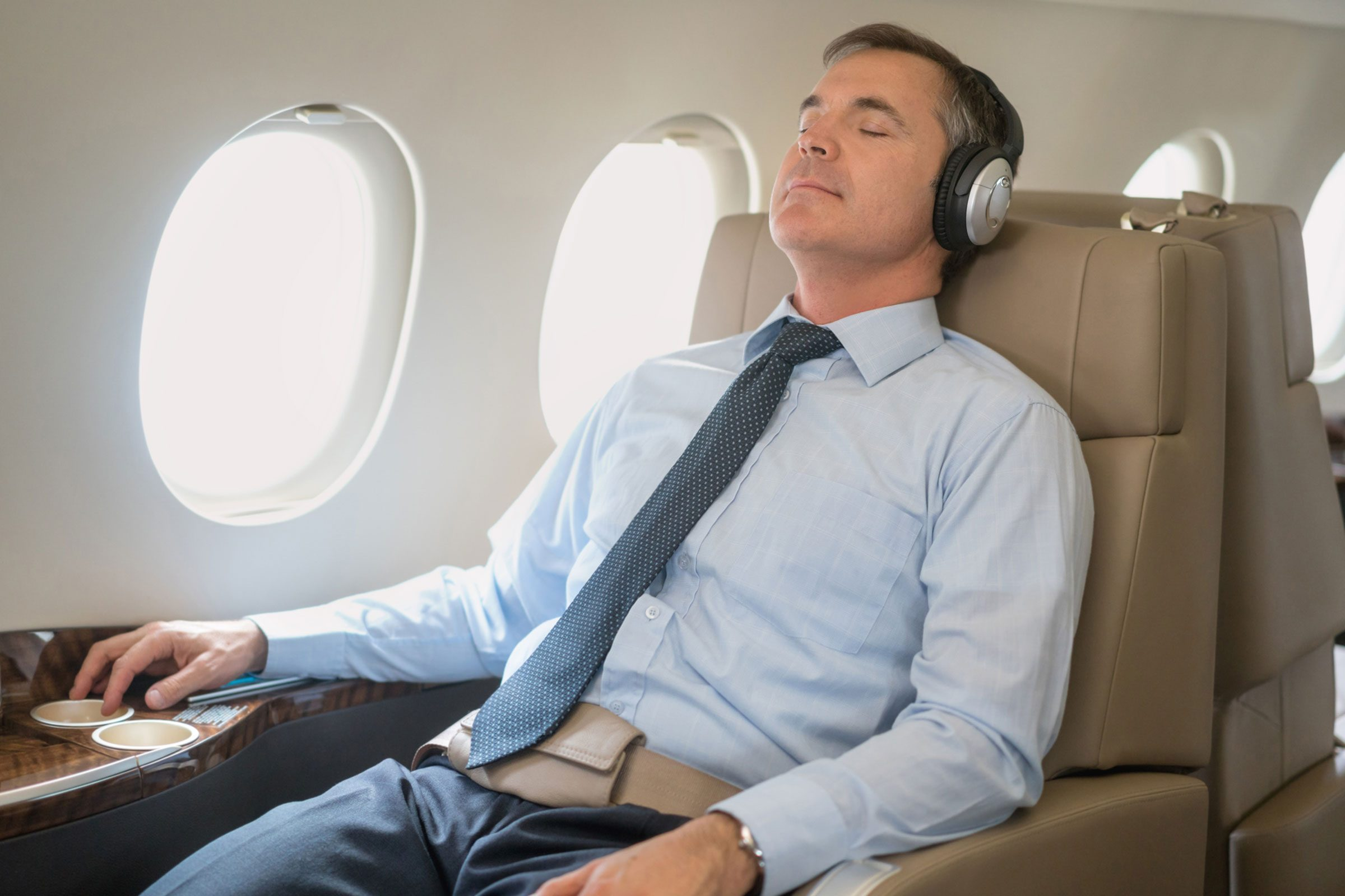 How To Sleep Well On An Airplane Reader S Digest