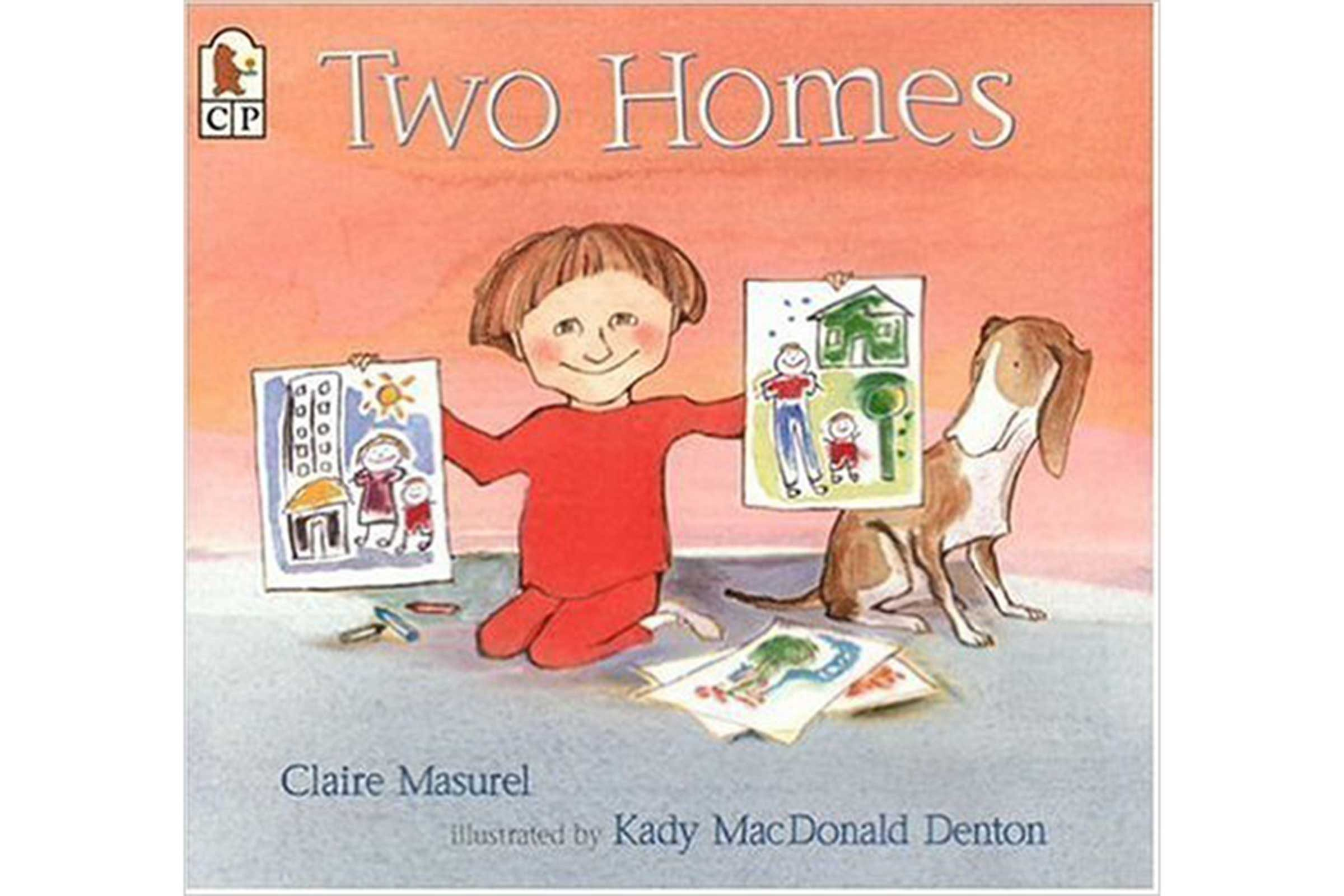 'Two Homes' by Claire Masurel