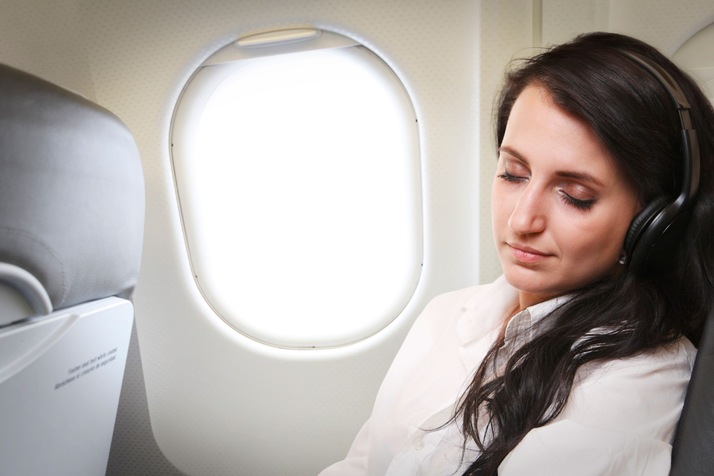 How To Sleep Well On An Airplane Reader's Digest Daughter Fall Asleep  Waiting Her Sick