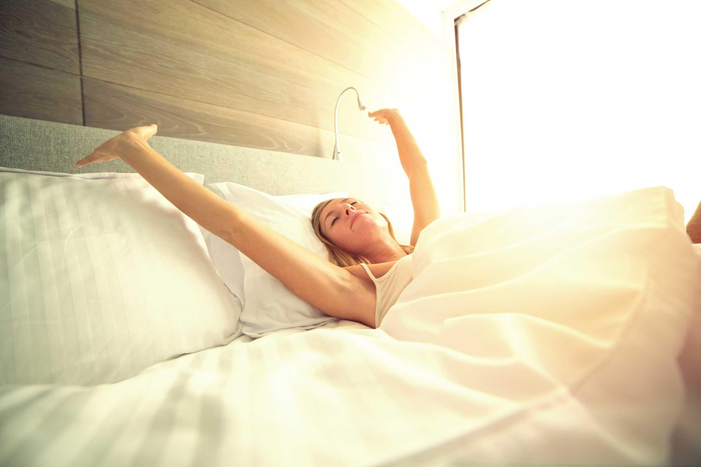 Ensure a good night's sleep