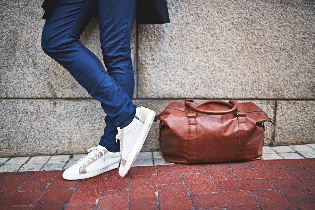 how to clean white sneakers reader s digest