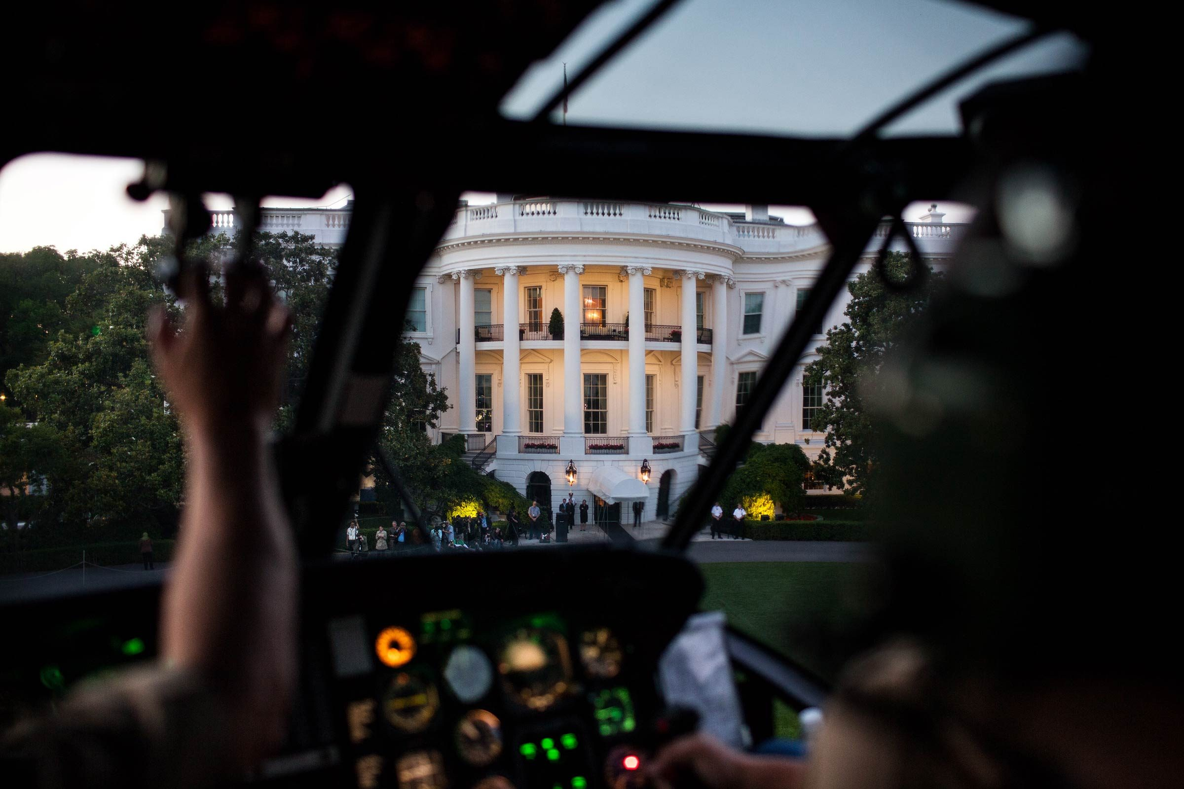 There's a secret command center below the West Wing—or is there?