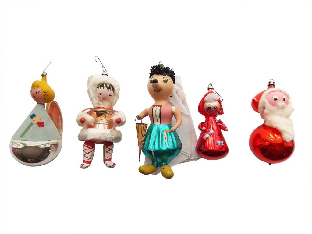 Vintage christmas tree ornaments - Vintage Christmas Decorations Glass_ornaments