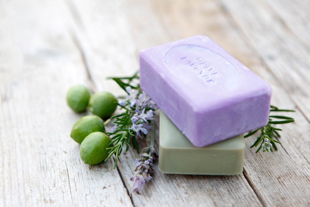 how to clean a bar of soap