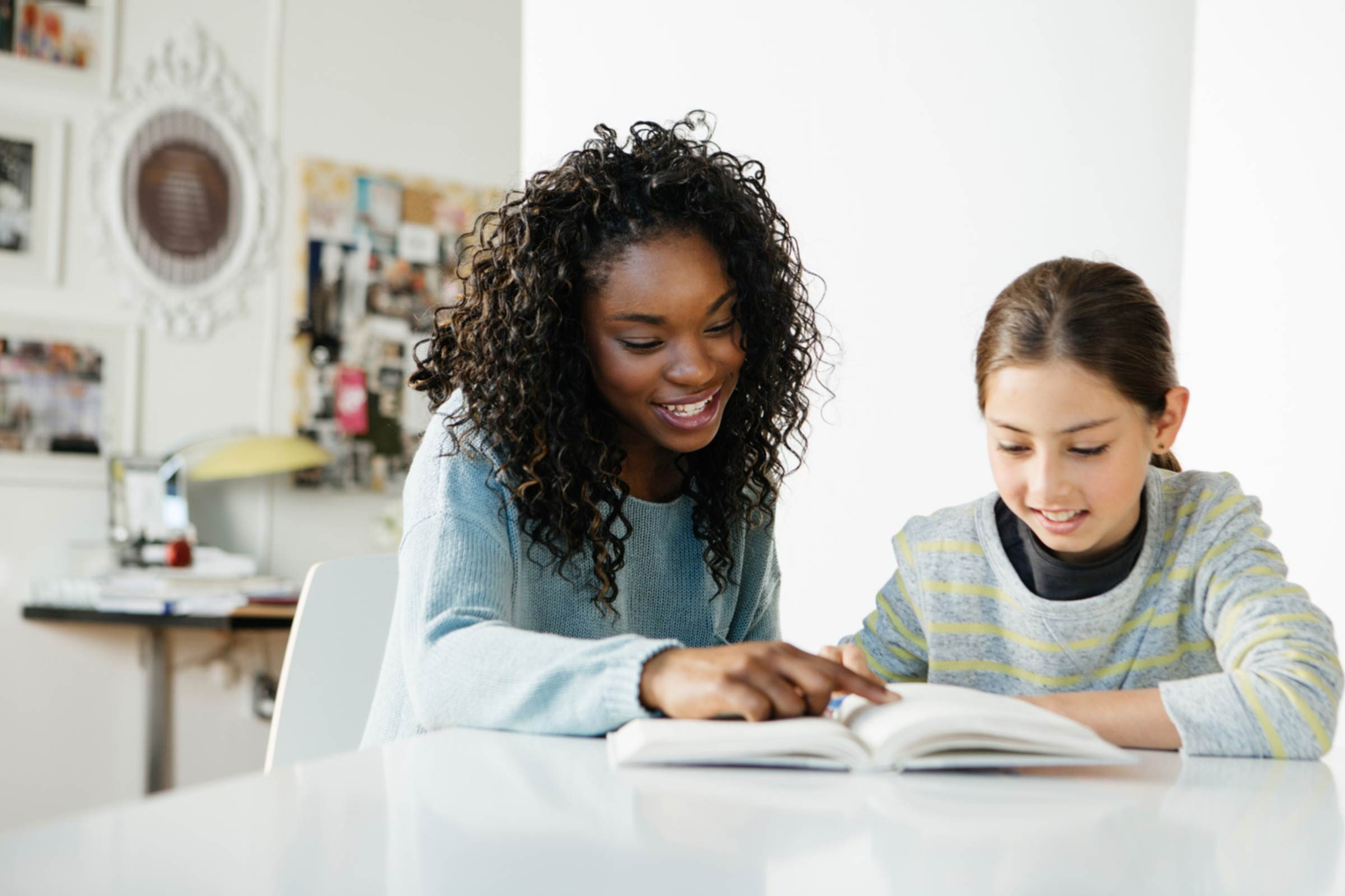 Volunteer to tutor a foster child