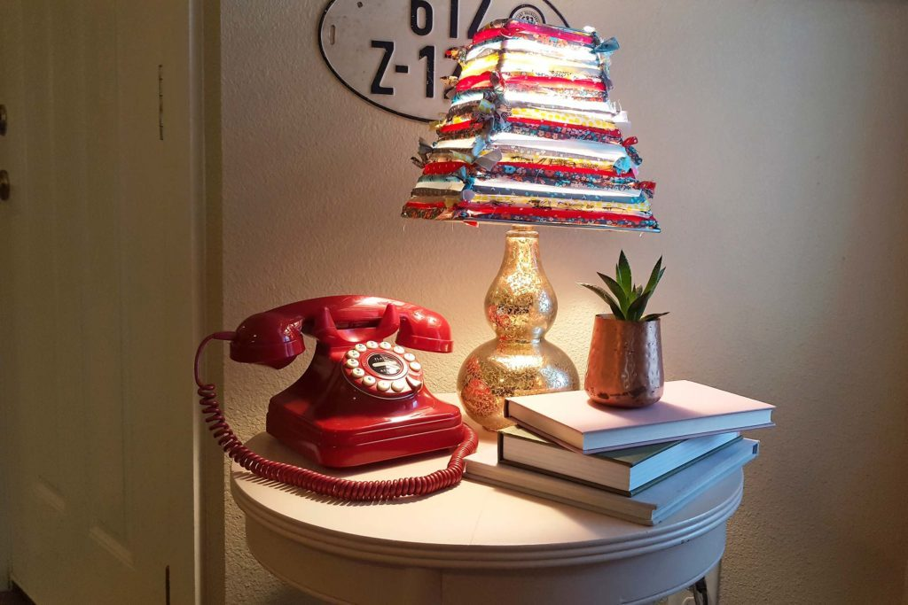 Brighten-Any-Room-by-Using-Old-Fabric-Scraps-to-Create-a-Colorful-Lampshade