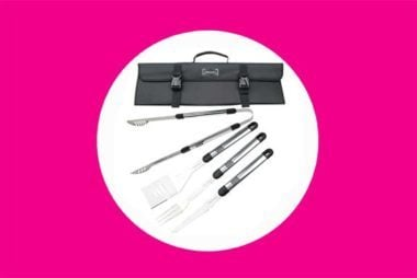 Stainless-steel-BBQ-set
