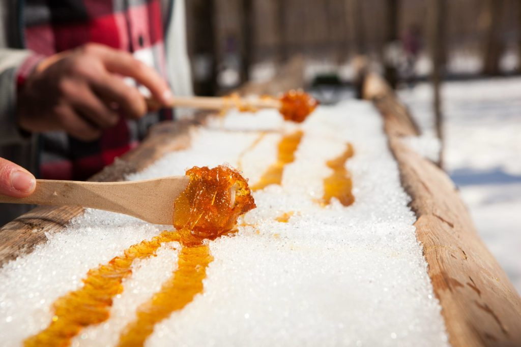 Maple Syrup and Snow Is the Sweetest Winter Treat | Reader's Digest