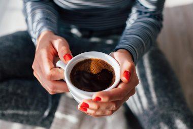 holdingcoffee