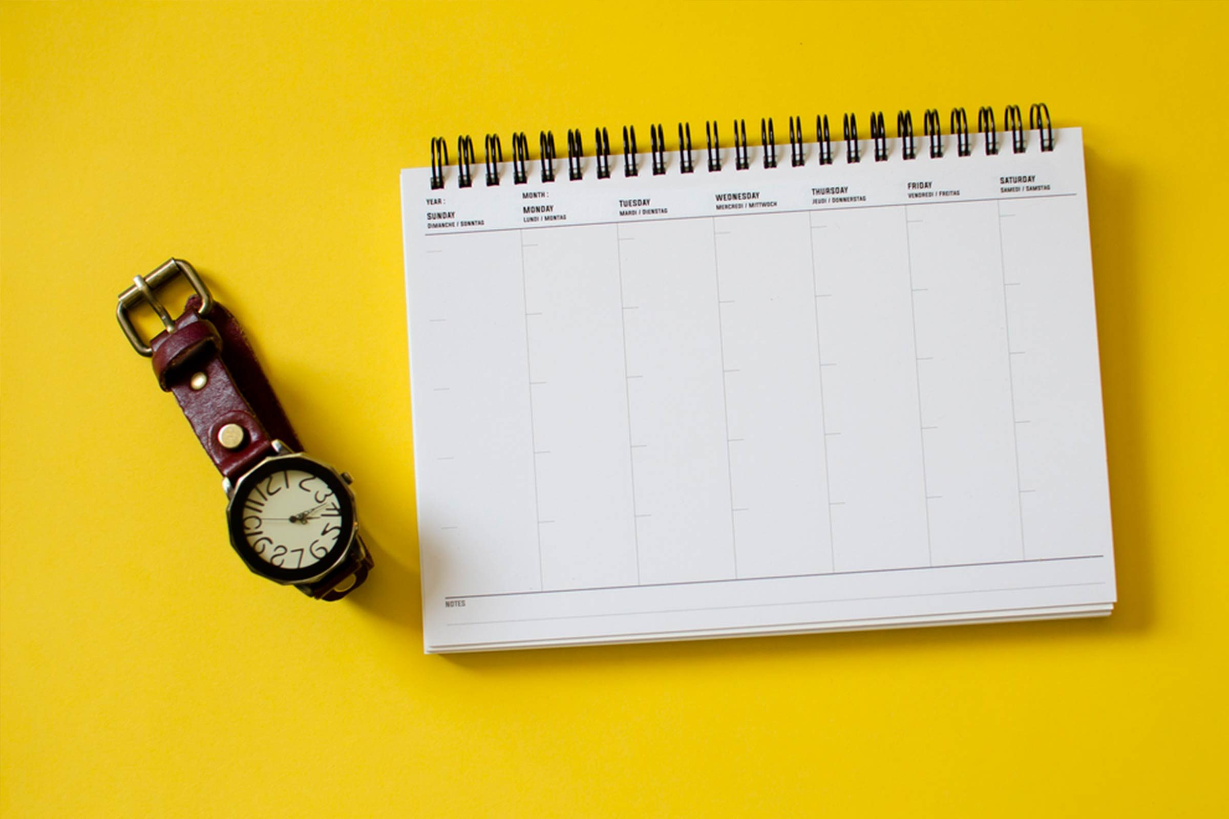 Règle du télétravail: Planifiez vos journées