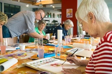 Crafting Activities Such As Woodworking Pottery Ceramics And Quilting Reduced The Likelihood Of MCI By 55 Percent In A Smaller Study