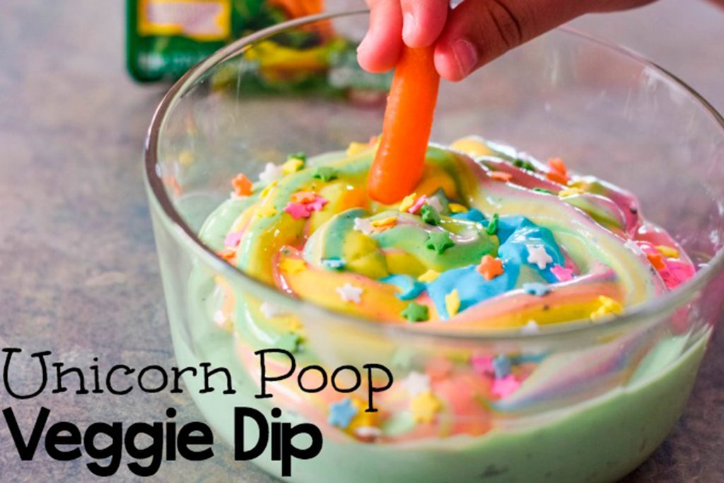 This-Unicorn-Dip-Will-Get-Your-Kids-to-Finally-Eat-Their-Veggies