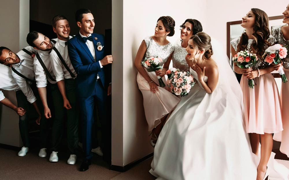 bridesmaids and groomsmen the unromantic history reader