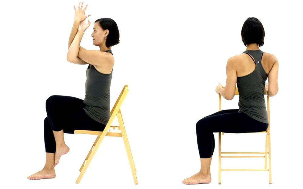 Got Arthritis? These Chair Yoga Moves Are Proven to Help ...