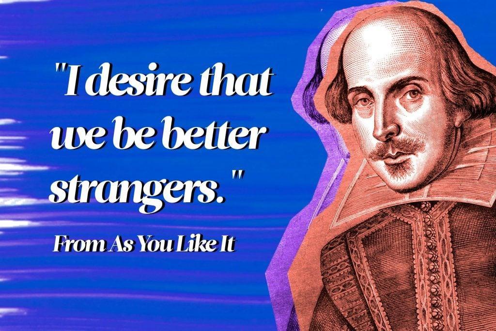 language of shakespeare essay