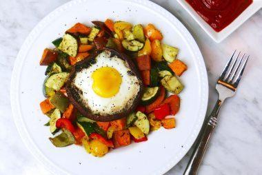 Portobello-Mushroom-Egg-Bake