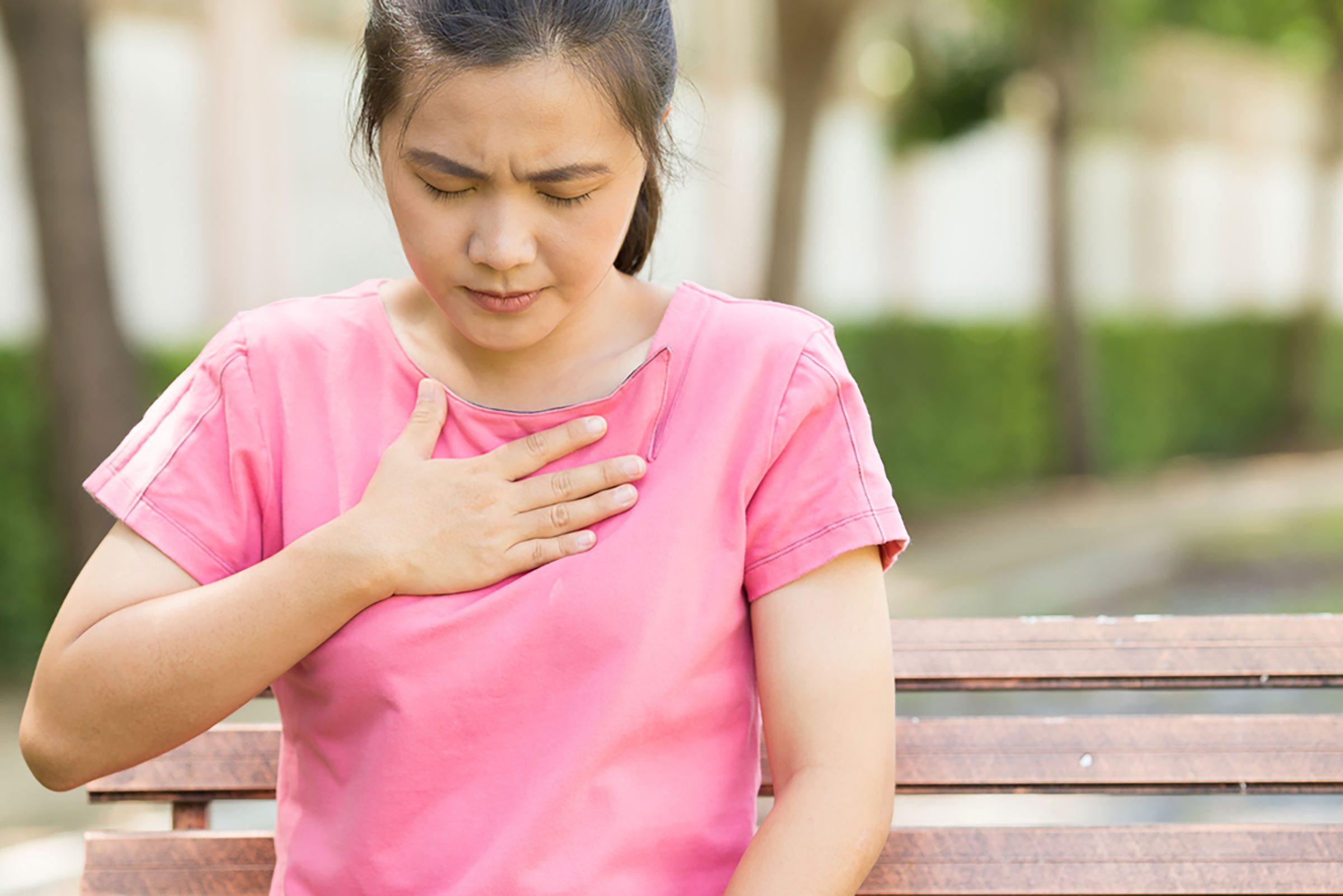 Brûlure d'estomac un des signes d'allergies