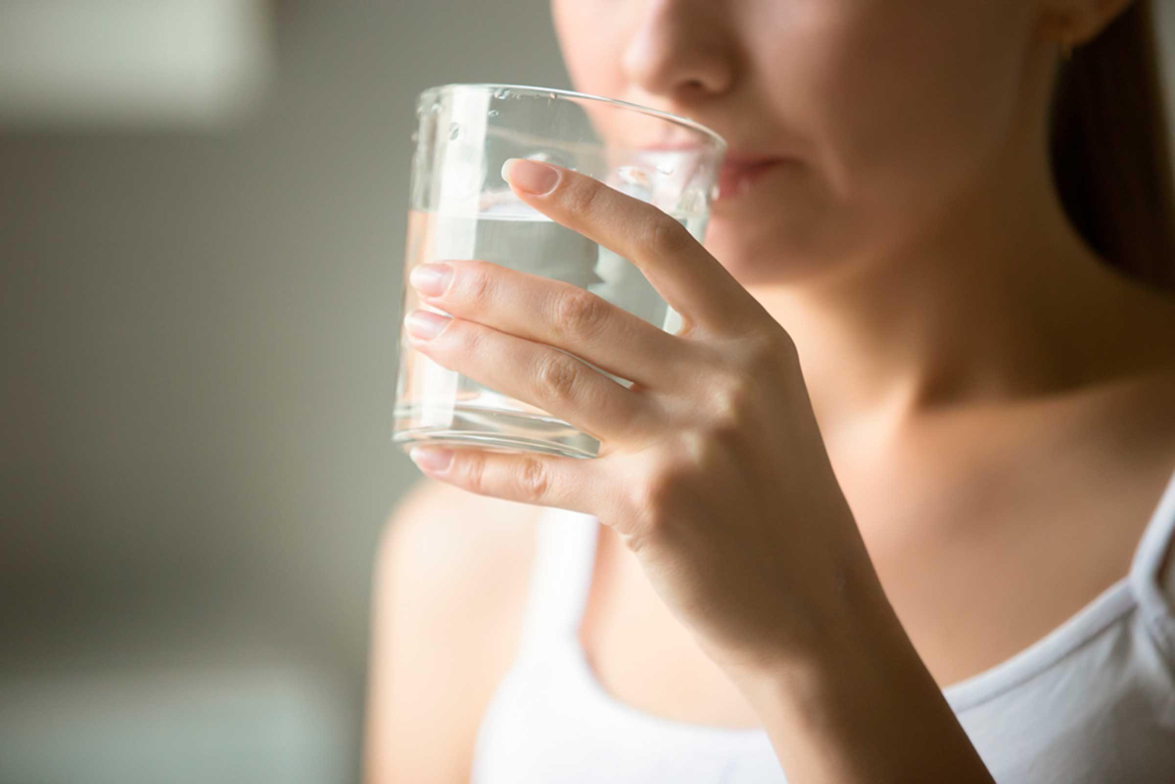 L'eau est l'aliment beauté numéro un