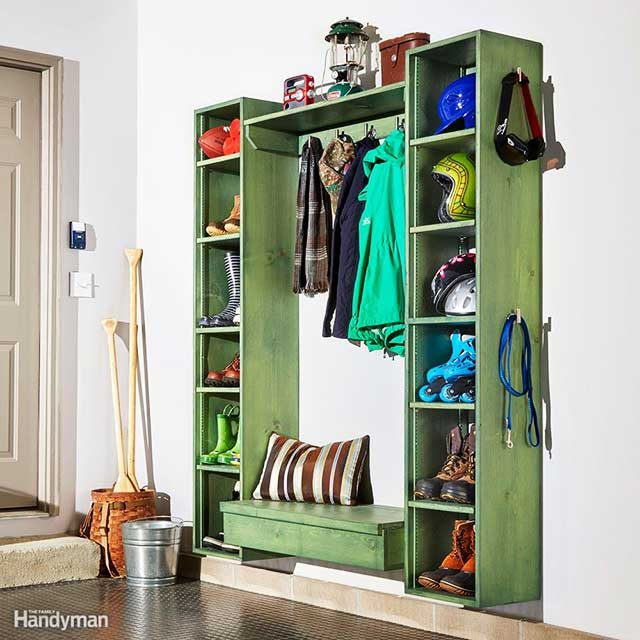 taste of homeif you would love to have a mudroom but just donu0027t have the space this compact bench and shoe shelf may be exactly what you need - How To Add Value To Your Home