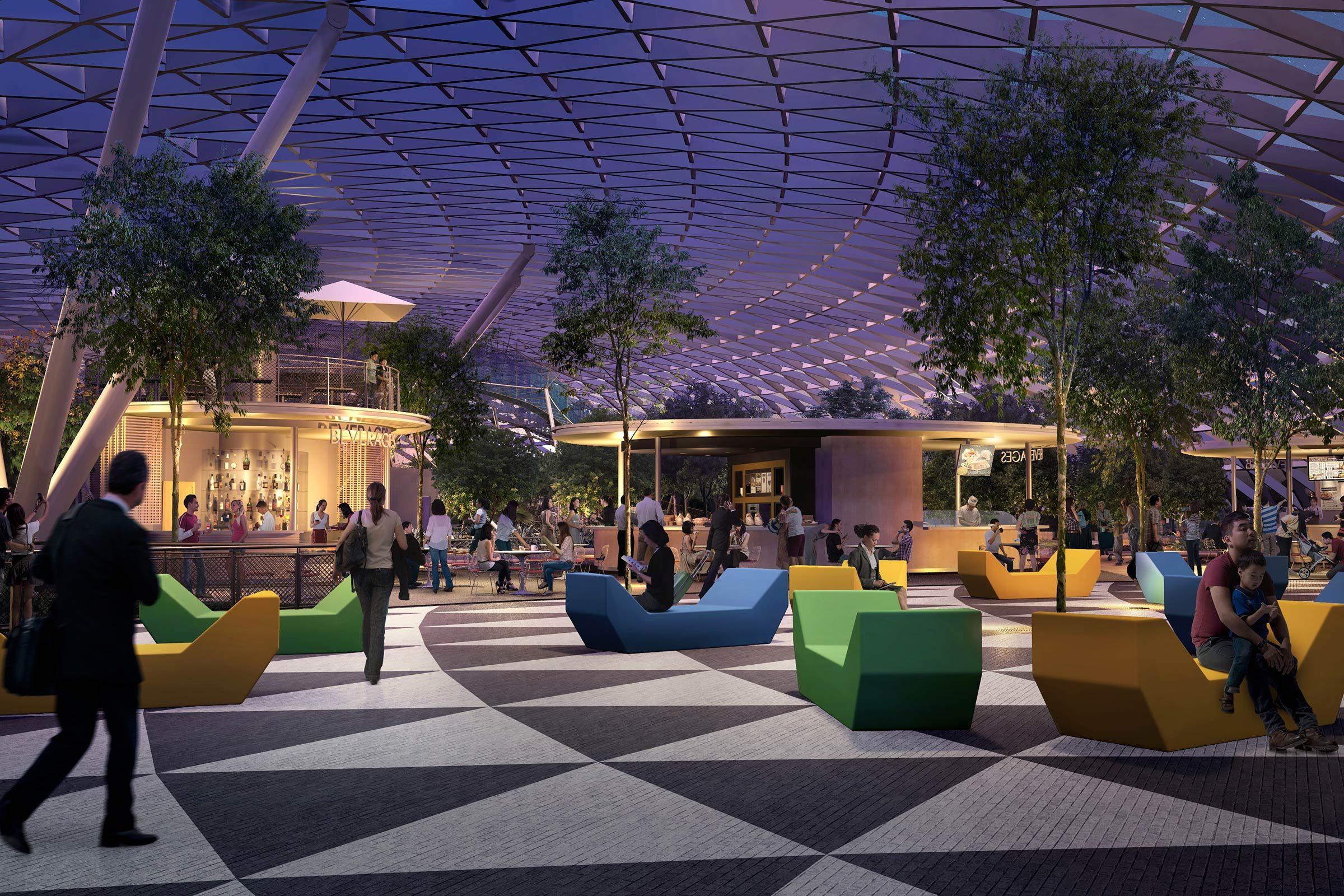 L'aéroport Changi : Le Bijou