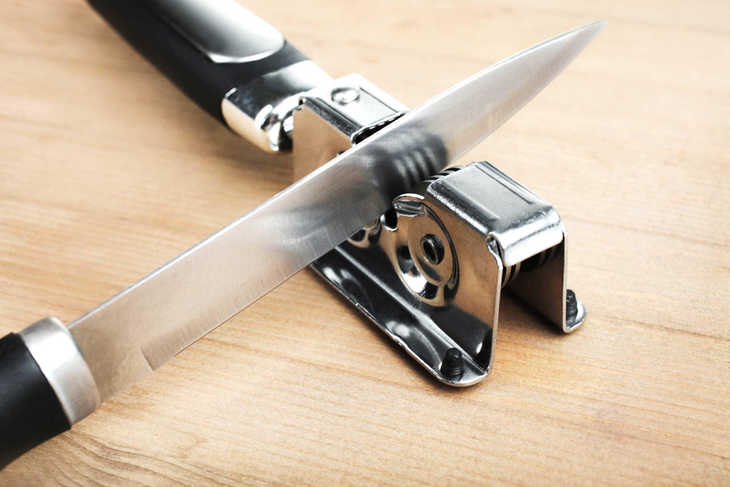 N'oubliez pas d'aiguiser vos couteaux de cuisine