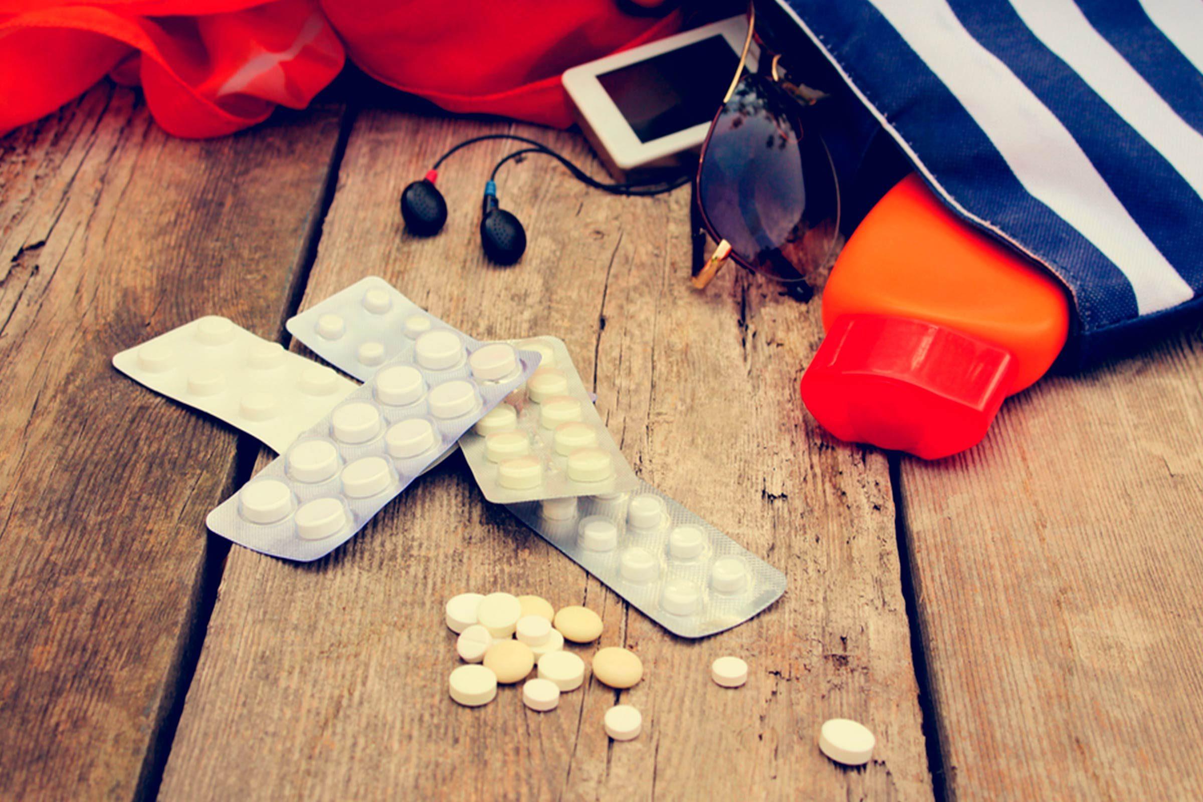 Pensez à apporter en voyages des analgésiques contre la douleur
