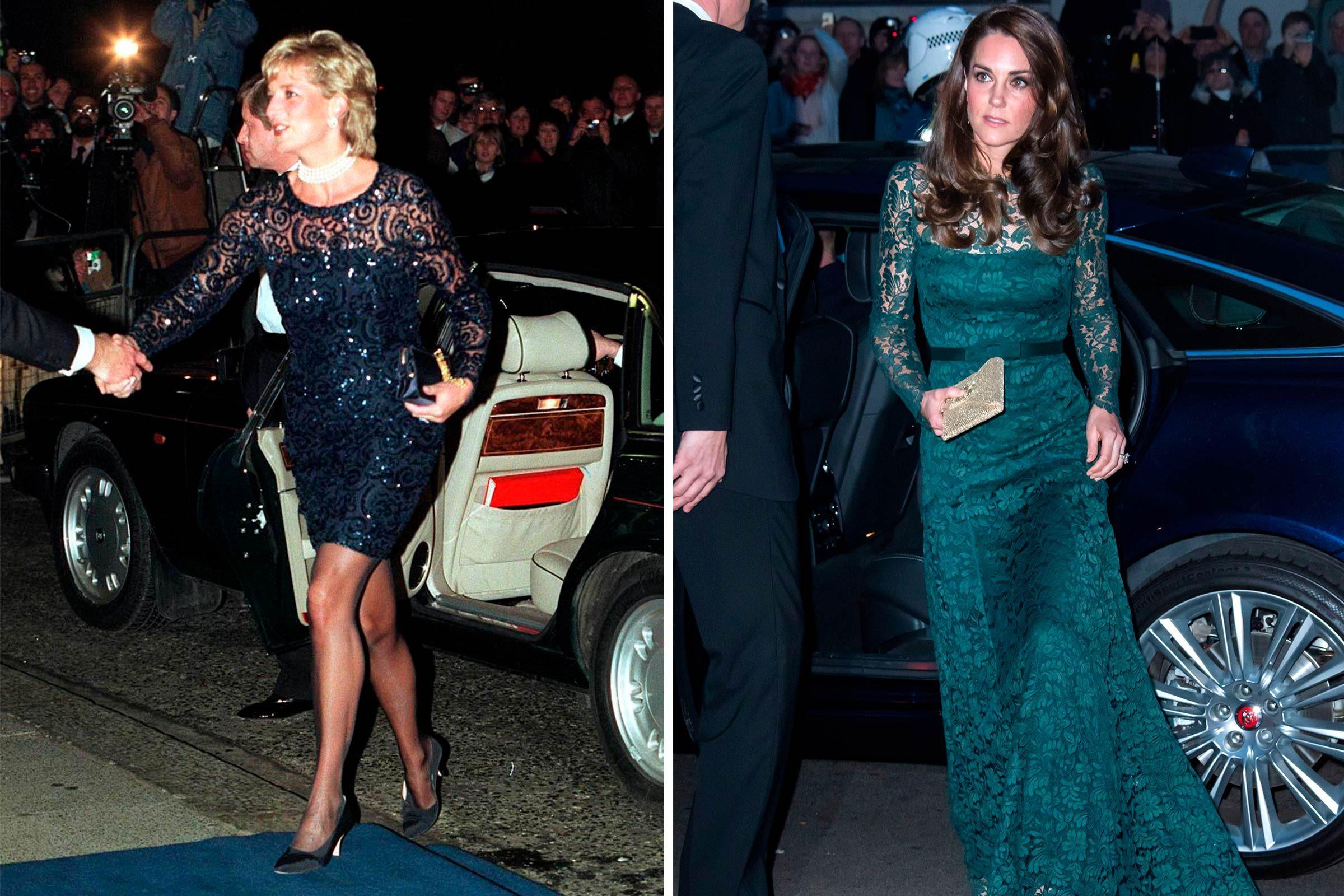 De la grâce et de la dentelle, pour la princesse Diana et Kate Middleton