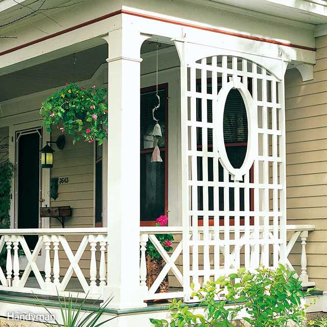 taste of homeaside from the privacy it offers a latticework porch trellis is a perfect way to add major curb appeal to your home for 100 or less - How To Add Value To Your Home