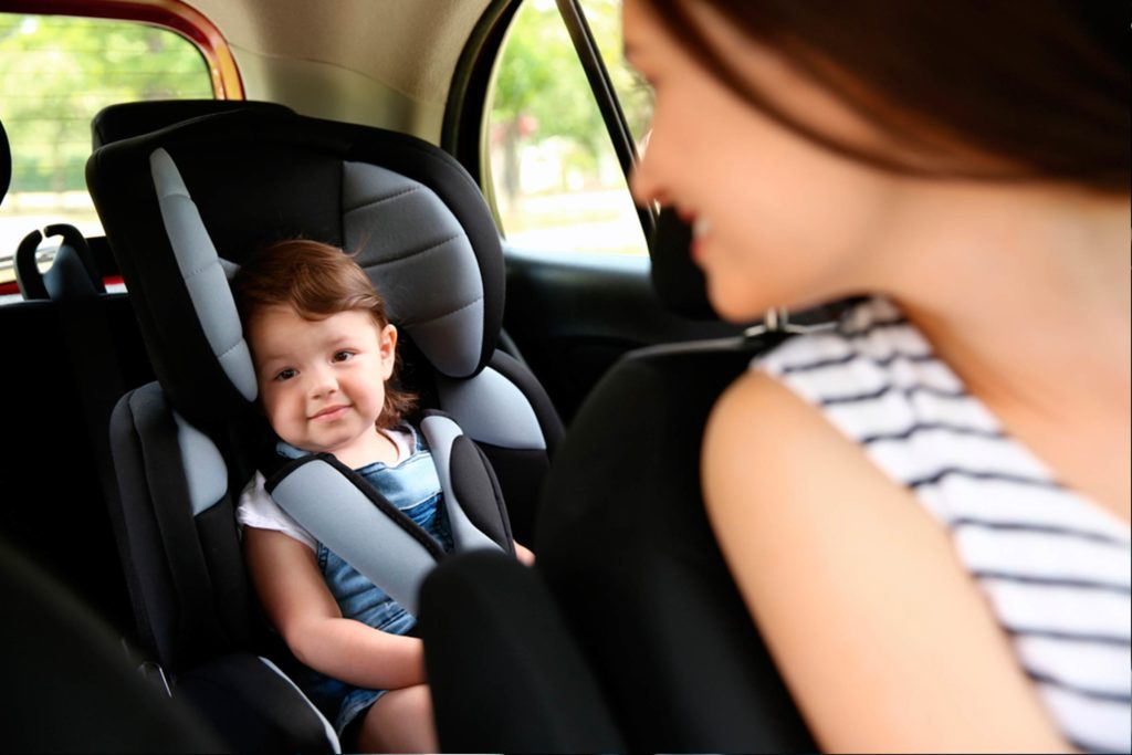 Image result for child in car seat