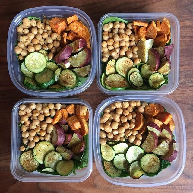 Idée de lunche santé: Bols-repas Bouddha