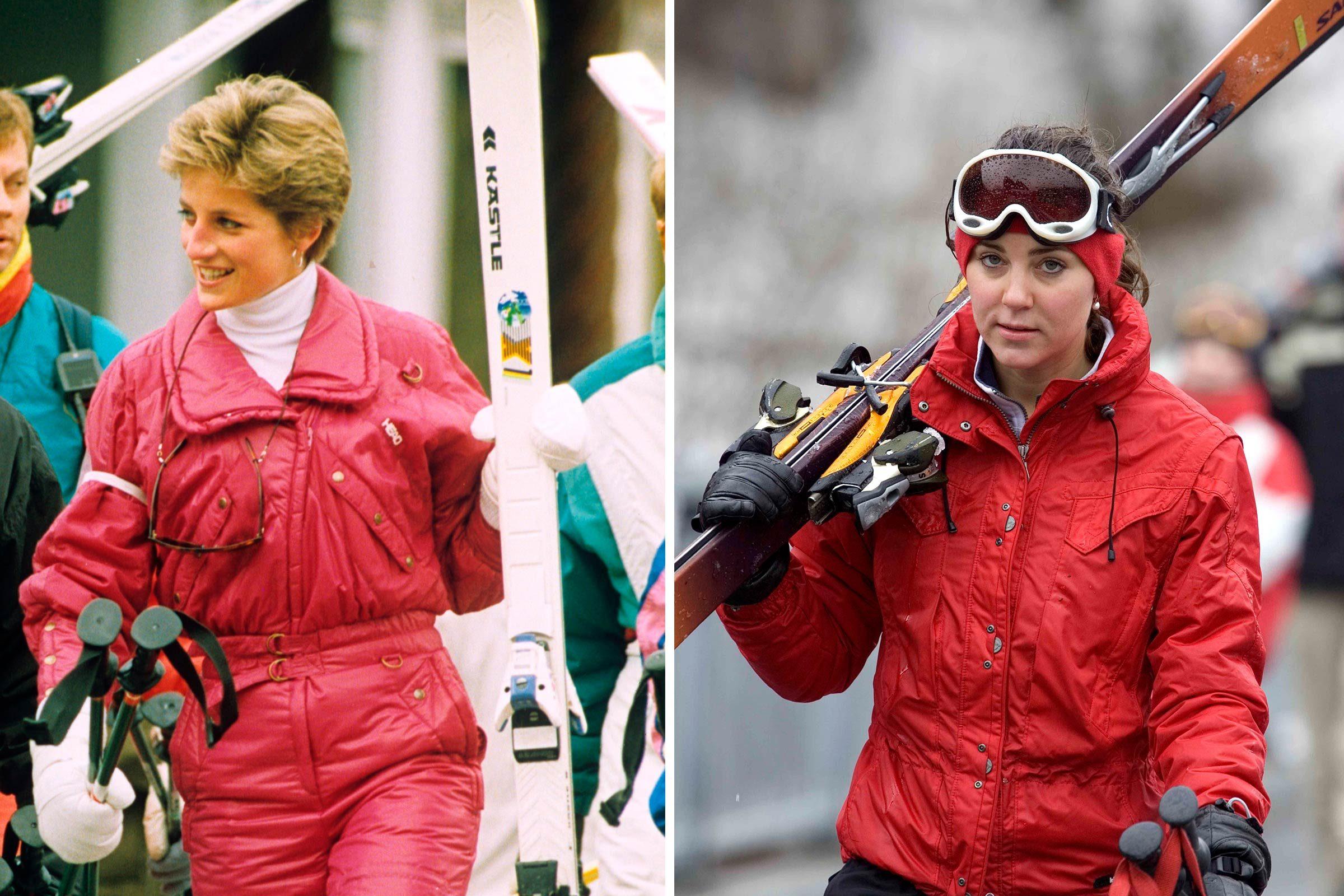 La princesse Diana et Kate Middleton sont prêtes pour l'hiver