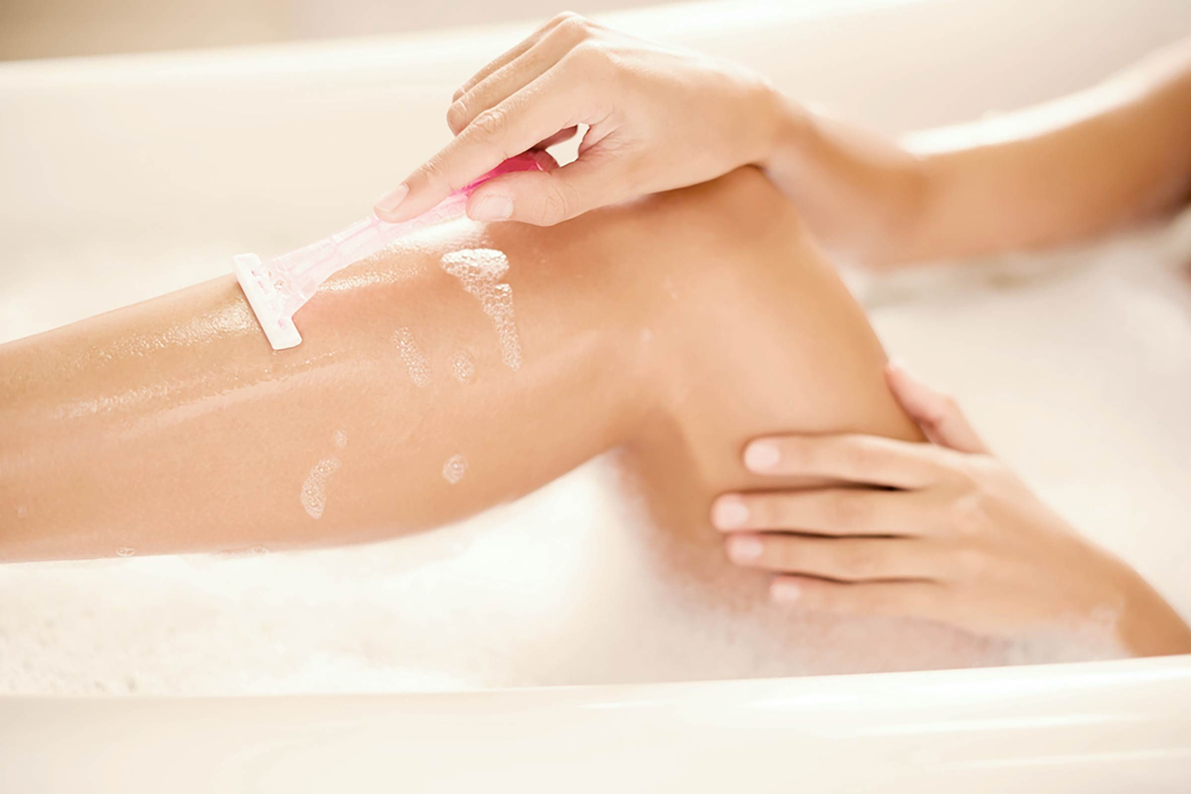 Beauté: Soigner l'irritation du rasoir avec du vinaigre de cidre