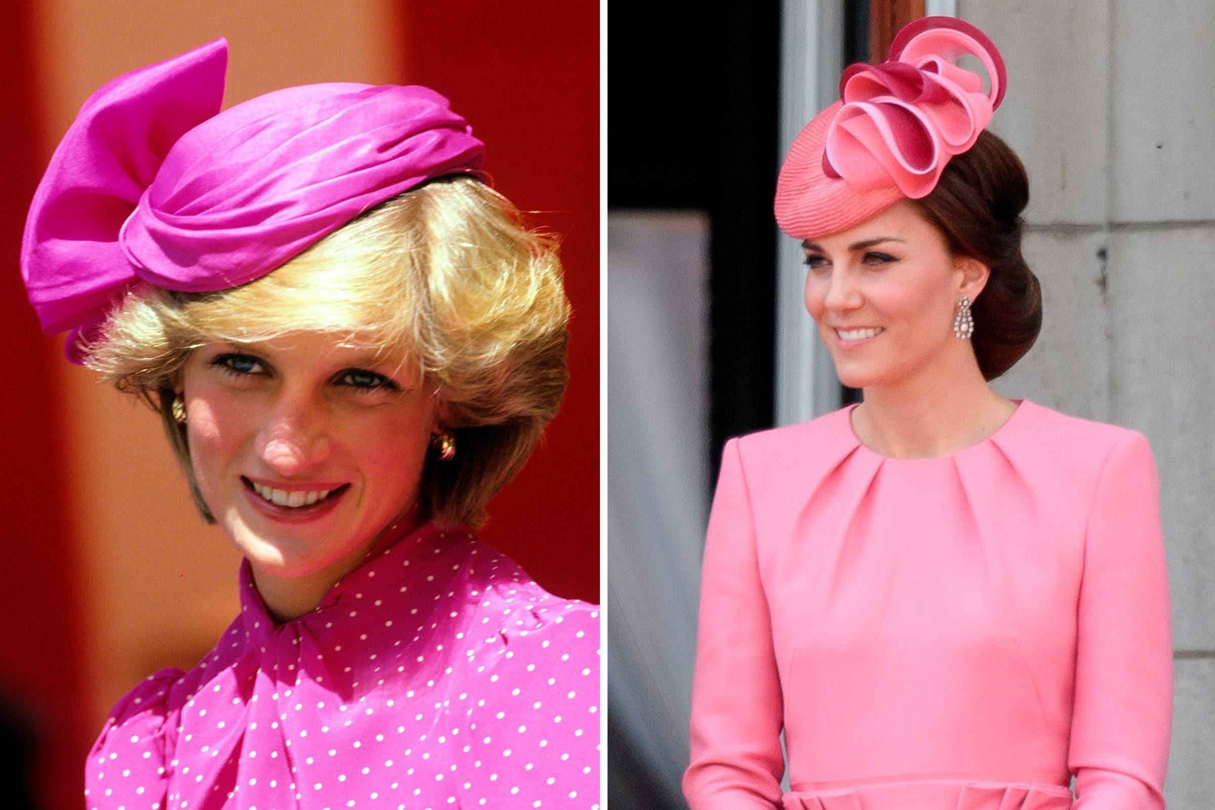 Un éclat de rose pour Kate et Diana