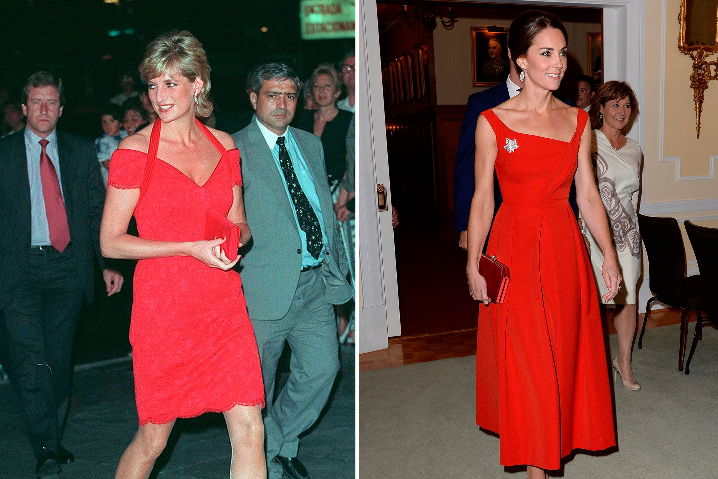 Kate et Diana: Rouge passion