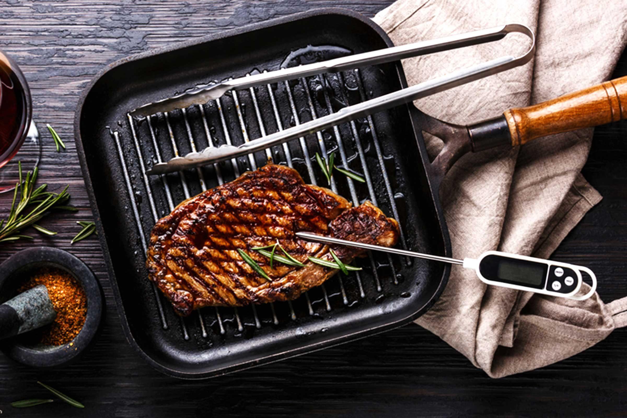 Erreur en cuisine : Vous n'utilisez pas le thermomètre à viande
