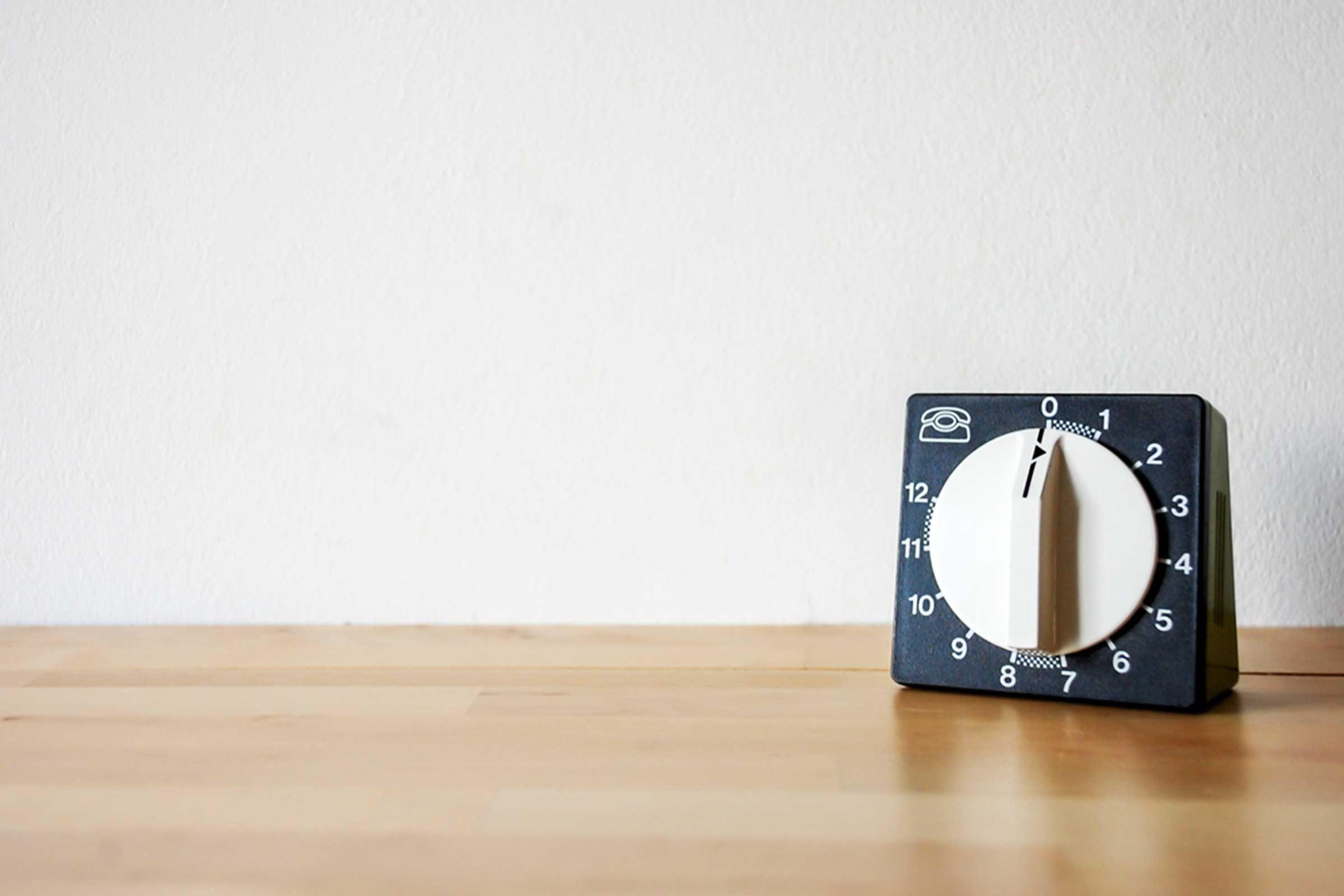 Erreur en cuisine : vous ne mettez pas la minuterie