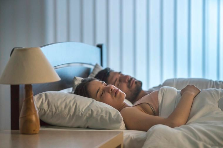 01-sleeping-together-Reasons That Married Couples Should Sleep in Separate Beds_670567996-Realstock