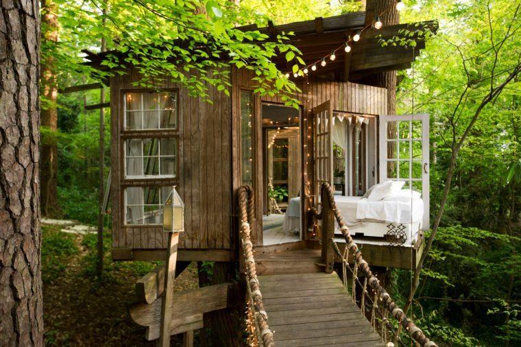 Photos Of Popular Tree House Airbnb In Atlanta Reader S