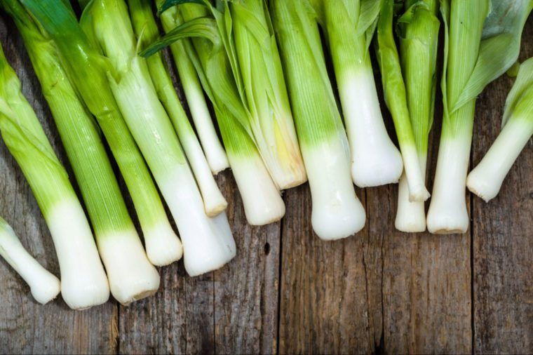 12-leeks-Fruits and Vegetables that Taste Best in the Fall_548363080-alicja neumiler